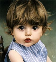 """""""James""""... by Simone Bingemer  -  beautiful watercolor!"""