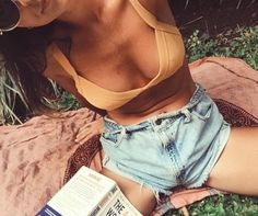 pocketful of daisies Bikinis, Swimsuits, Trendy Swimwear, Summer Aesthetic, Shorts, Passion For Fashion, Bathing Suits, Spring Fashion, What To Wear