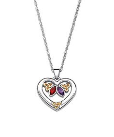 Love this Two-Tone & Austrian Crystal 'Anam Cara' Pendant Necklace on #zulily! #zulilyfinds
