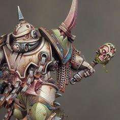 Sproket's Small World: Project P30 - Death Guard Chaos Space Marine Part ...