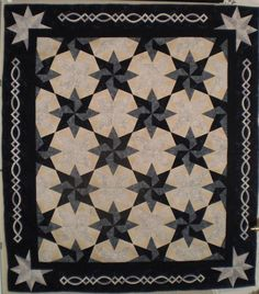 Teri Carnes' Blustery Day quilt variation from a Judy Martin BOM.