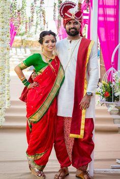 Marathi Bride – – T-Shirts & Sweaters Indian Wedding Poses, Wedding Dresses Men Indian, Indian Wedding Couple Photography, Indian Bridal, Wedding Attire, Wedding Bride, Bride Indian, Wedding Decor, Indian Weddings