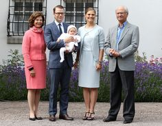 Princess Victoria - Swedish Royal Family Celebrates Crown Princess Victoria's 35th Birthday