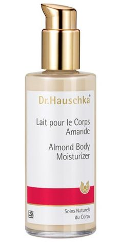 Dr. Hauschka Almond Lotion (good things come in glass bottles)