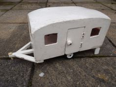 Amazing Vintage Hand Made Wooden Caravan (40 years old approx)
