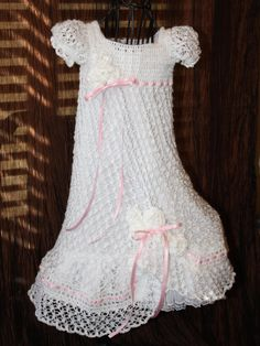Crochet blessing dress from etsy - beautiful!