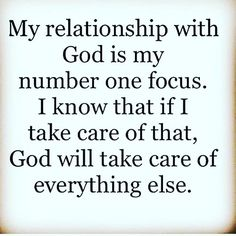 God first and then when he sees fit he will bring me the one he has for me #WaitonGod #WaitingforMrRight