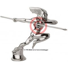 Chief Runamuk Indian Hood Ornament  Only @ deathproofduck.com They are hand made in very small batches.