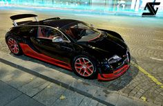 Bugatti Veyron Grand Sport Vitesse, by Anthony Gelot.  (By AG Photographer)