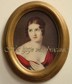 In my shop Het lijstje van brocante.....by Silvia Hokke