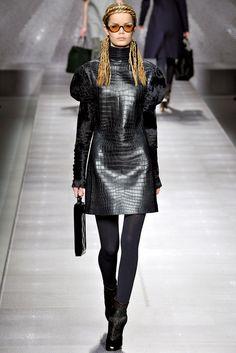 Fendi Fall 2012 Ready-to-Wear Fashion Show - Frida Aasen