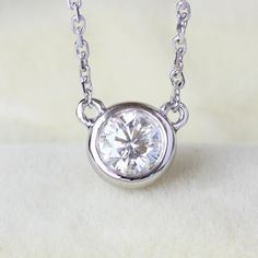 Find More Pendants Information about Genuine 18K 750 Gold 0.5 CARAT CT No Less Than GH Color Lab Grown Moissanite Diamond Pendant Necklace Fine Jewelry,High Quality jewelry necklace pendants,China moissanite pendant Suppliers, Cheap genuine diamond pendant from  CPP  sLowgUs'hop on Aliexpress.com