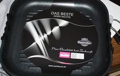 Die geb ich nicht mehr her, unsere tolle Guss-Grillpfanne von Gastrolux (https://www.pfannen-shop.de/shop/)  Mein Bericht ist hier zu lesen:  http://www.tarisa.de/gastrolux-pfannentest-2014-ich-bin-dabei/