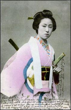 Japan - woman of the Samurai class
