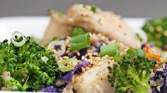 Teriyaki Chicken Cauliflower Rice Bowl  #Bowl #Cauliflower #chicken