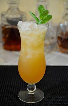 #Zombie koktél - Fekete Rum, Fehér Rum, Stroh #Rum, #Brandy