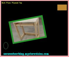 Desk Plans Plywood Top 101345 - Woodworking Plans and Projects!