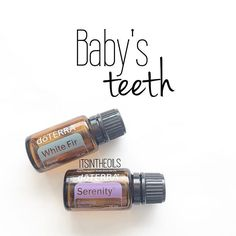 This combo is such a game changer for baby's (and littles') teeth as they're breaking through. White Fir is such a comfort to the achy discomfort happening, while the scent of Serenity helps calm baby's emotions. Use a roller bottle for easy application Essential Oils For Pregnancy, Essential Oils For Babies, Essential Oil Uses, Essential Oils For Teething, Coconut Oil For Teeth, Coconut Oil Pulling, Doterra Essential Oils, Doterra Blends, Fractionated Coconut Oil