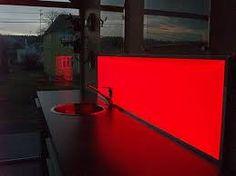 Bilderesultat for kjøkken med rød lys Stairs, Home Decor, Stairways, Ladder, Staircases, Room Decor, Home Interior Design, Home Decoration, Ladders
