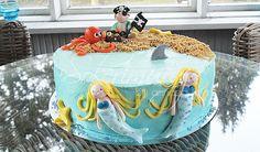 Mermaids and a Pirate Cake by Sokerimuruja