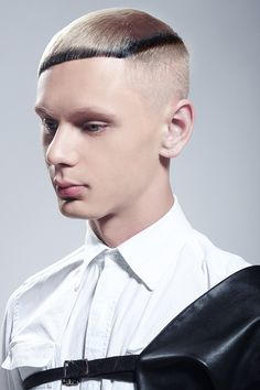 SP Men Competition entry from RUSSIA, Salon Natanya Kovleva. Look: Modern Sophistication.