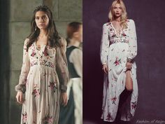 "In the episode 2x16 (""Tasting Revenge"") Lady Kenna wears this Free People Winter Wanderer Dress ($500 $299.95).Worn with Lulu Frost earrings."