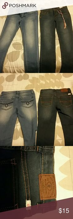 GIRLS Kids Jeans size 6x and size 7 Lucky Brand size 6x Lucky jeans dark color and Girls kids jeans size 7 lighter color Lucky Brand Bottoms Jeans