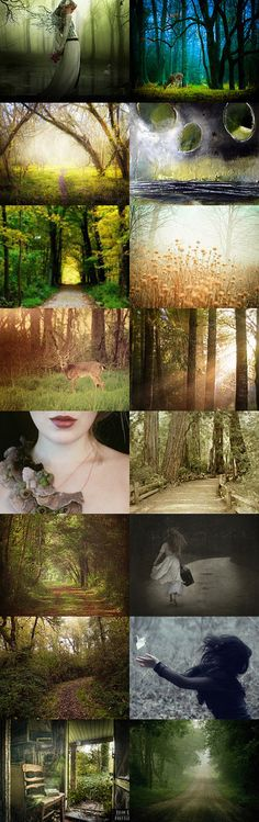 The Forest by TheLavenderBoutique on Etsy--Pinned with TreasuryPin.com