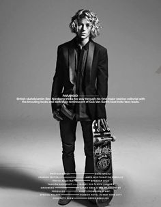 Ben Nordberg poses for The Block Magazine's new shoot by Beau Grealy with splendid styling by James Worthington-DeMolet. Fashion Editor, Editorial Fashion, Men Editorial, Ben Nordberg, Surfer Dude, Action Photography, Skater Boys, Men Photoshoot, Dark Fashion