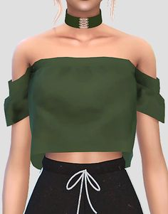 Lana CC Finds - DELTASIM NADINE TOP