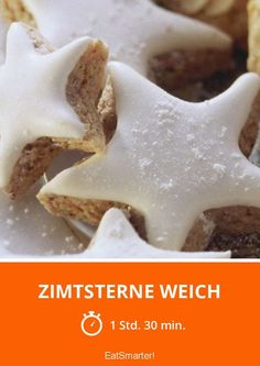 Zimtsterne weich - smarter - Zeit: 1 Std. 30 Min. | eatsmarter.de