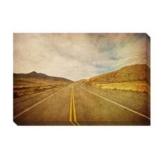 @Overstock - On The Road Oversized Gallery Wrapped Canvas - Artist: UnknownTitle: On The RoadProduct type: Gallery-wrapped canvas art  http://www.overstock.com/Home-Garden/On-The-Road-Oversized-Gallery-Wrapped-Canvas/7665836/product.html?CID=214117 $131.99