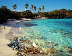 Sapphire Beach in St. Thomas- Virgin Islands