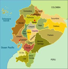 Where Is Ecuador On A Map | ecuador_maphttps://sphotos-a.xx.fbcdn.net/hphotos-prn1/71481_353869638051172_420363465_n.jpgrovinces of ecuador..vilcabamba is the loja province and was once part of peru..qutio is the capital and is north..