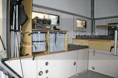 Mercedes Vario, Offroad, Slide In Truck Campers, Lower Deck, Popup Camper, Double Beds, French Door Refrigerator, Pop Up, 4x4