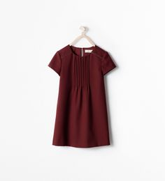 DRESS WITH PLEATS - Dresses and overalls - Girl (3 - 14 years) - KIDS | ZARA Finland