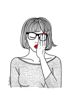 Sara Herranz illustration in 190º The Magazine