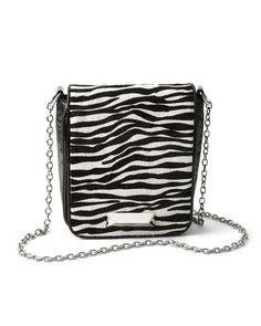 Black & White... ZEBRA HAIRCALF BAG