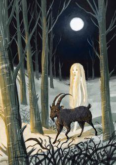 Art And Illustration, Dark Fantasy Art, Dark Art, Black Phillip, Satanic Art, Arte Obscura, Occult Art, Witch Art, Pop Surrealism
