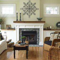 White Oak Country Ledgestone Home Design Ideas, Pictures, Remodel and Decor