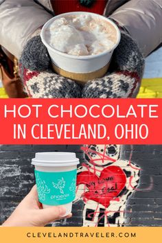 The Best Hot Chocolate in Cleveland: 6 Hot Cocoas You Have to Try Spiked Hot Chocolate, Chocolate Malt, Ghirardelli Chocolate, Mexican Hot Chocolate, Chocolate Topping, Hot Chocolate Recipes, Homemade Chocolate, Cleveland Food, Cleveland Restaurants
