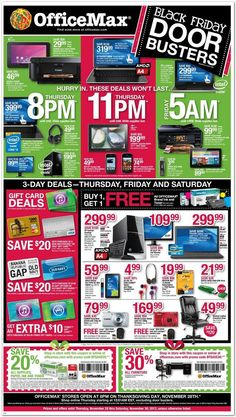 OfficeMax Black Friday Ad 2013