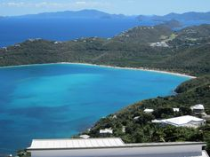 Megan Bay, St Thomas..one of the most amazing things I've ever seen. Sand so soft and white...want to go back <3