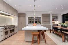 NOTE: Refined kitchen simplicity