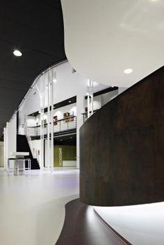 Theater De Leest Interior, Waalwijk designed by M+R Interior Architecture
