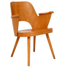 Czech mid-centry chair Czechoslovakia 1960's