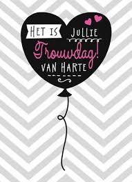 Afbeeldingsresultaat voor blond amsterdam kaarten trouwdag aniversity