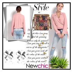 """Newchic"" by fatimka-becirovic ❤ liked on Polyvore featuring newchic"