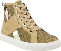 AJ Armani Jeans 925168 Sneakers Femme Synthétique Beige 37 - Chaussures emporio armani (*Partner-Link)