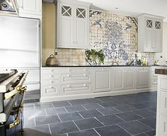 Slate Floor Kitchen Colored Islands 44 Best Images Flooring Home Improvement Ideas Grey Tiles